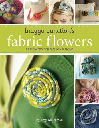 Indigo Junction's Fabric Flowers