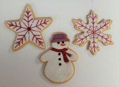 Sugar Cookie Precut Wool Kit