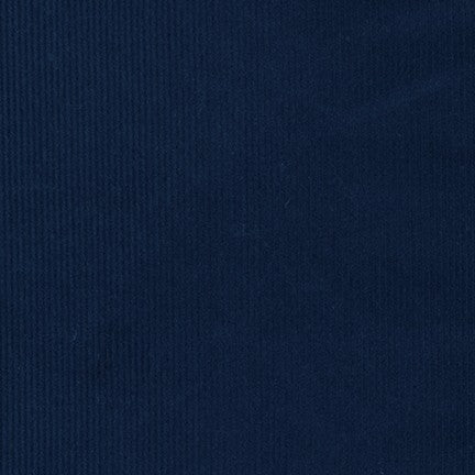 Copy of 14 Wale Corduroy Robert Kaufman Navy