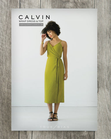 Calvin Wrap Dress and Top True Bias