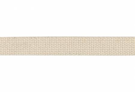 "1"" Cotton Webbing Natural"