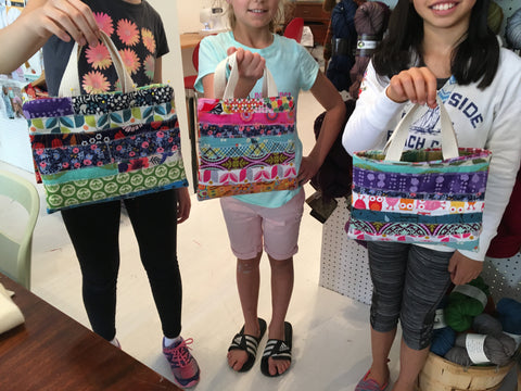 Week 9  August 12 - 16 Quilted Projects