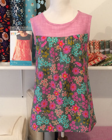 Ruby Dress and Top Beginner April 6th, 13th and 20th, 6-8pm