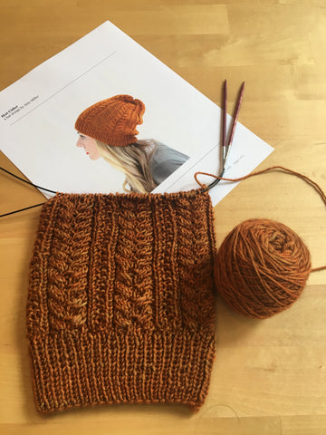 Guided Project Knitting Thursdays April 18, 25 and May 2, 9, 16 12:30-2:30pm
