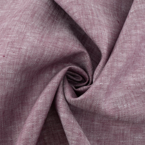 100% Organic Yarn Dyed Linen Berry Cobbler