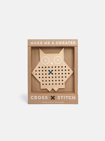 Cross Stitch Friends Owl Kit