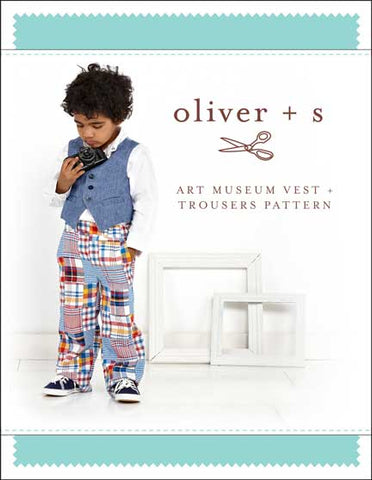 Art Museum Vest and Trousers Oliver and S