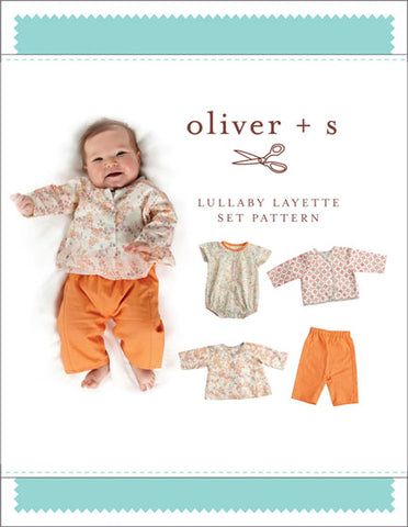 Lullaby Layette Set Oliver and S 0M-24M