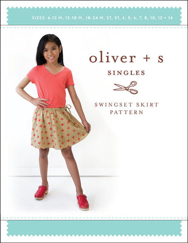 Swingset Skirt Oliver and S 6M-14Y