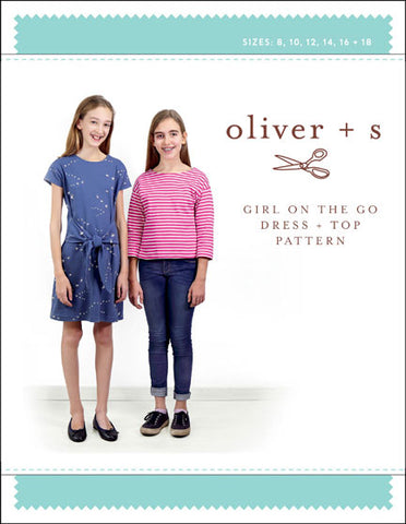 Girl on the Go Dress and Top Oliver and S