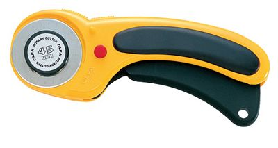 Olfa Rotary Cutter 45mm Ergonomic Special Edition with Safety