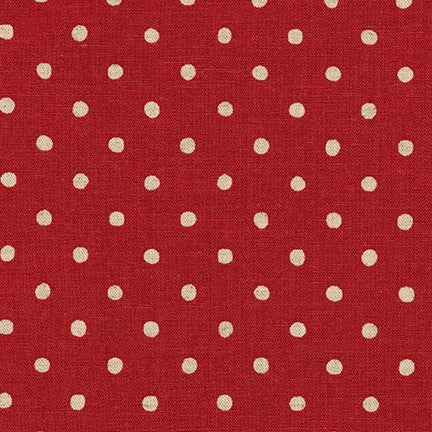 Dots Red Canvas