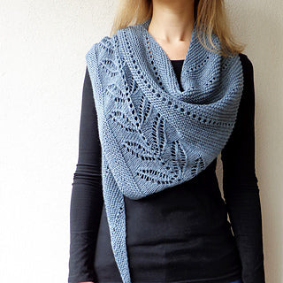 The Silverleaf Shawl--Knit Along—Cast On June 3rd!