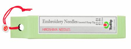 Tulip Embroidery Needles Assorted Sharp #3, #4, #5, #6,