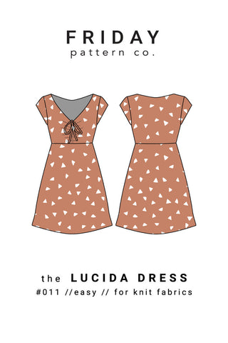 Lucida Dress Friday Pattern Co.