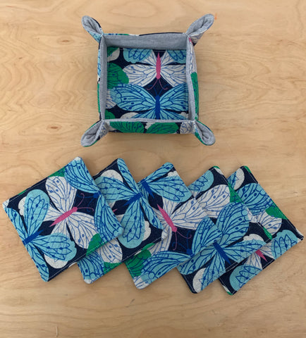Boxed Coaster Set of 6 Flutter