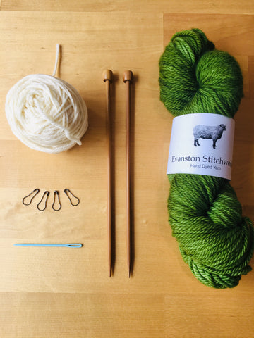 Knitting for Beginners Sundays April 19, 26, May 3, 17