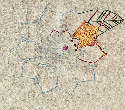 Basic Embroidery Sundays October 18th 2-3:30pm