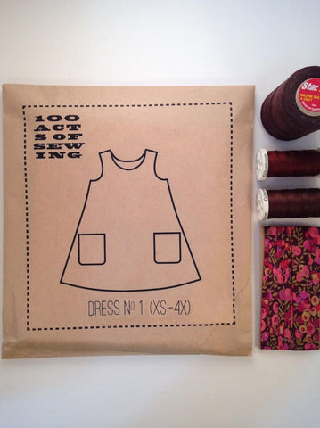 Dress No. 1 100 Acts of Sewing