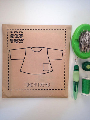 Tunic No. 1 100 Acts of Sewing