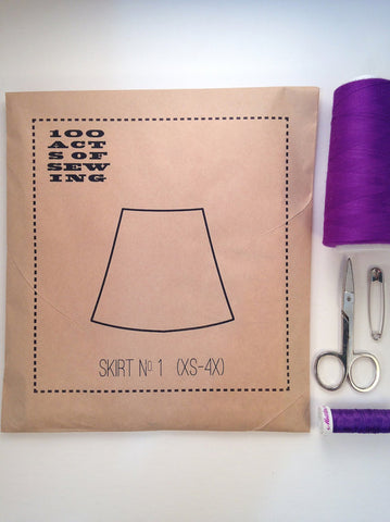 Skirt No. 1 100 Acts of Sewing