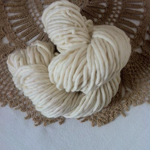 80/20 Super Bulky Merino Lichen and Lace
