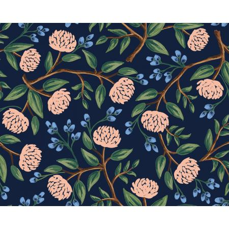 Wildwood Peonies Navy Rifle Paper Co.
