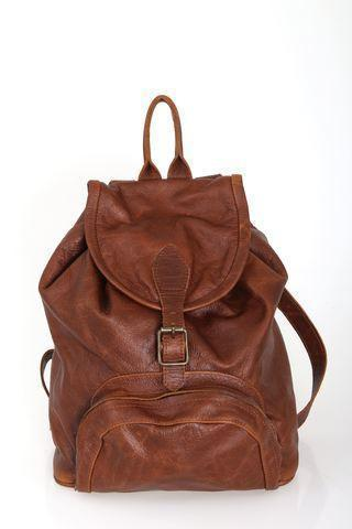 Backpack - Leather Backpack