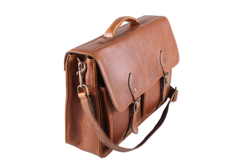 Business - 15.6 Inch Laptop Leather Bag