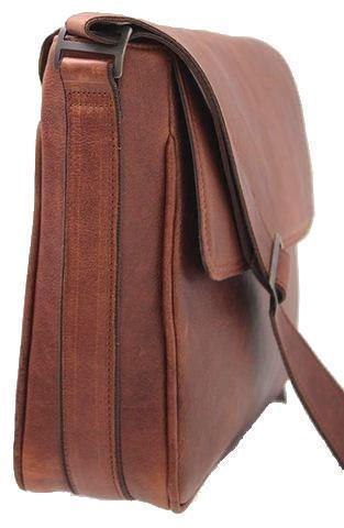 Business - Simple 15 Inch Trendy Messenger Notebook Bag