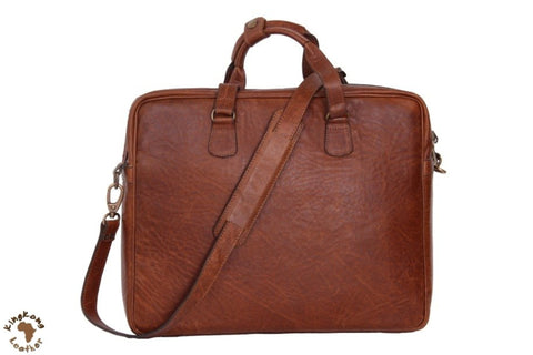 Laptop/Notebook Bag - Hybrid 15 Inch Crossbody Notebook Leather Bag