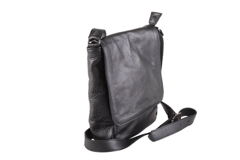 Sling Bag - 8 Inch Messenger Sling Leather Bag