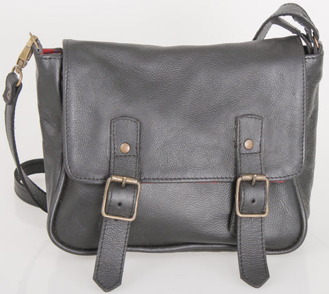 Sling Bag - Sling Shoulder Satchel Leather Bag