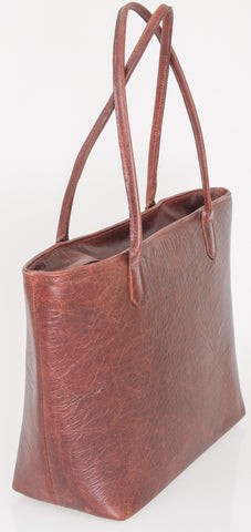 Tote Bag - Classic 13 Inch Notebook Tote Leather Handbag