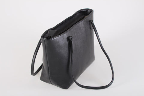 Tote Bag - Collective Slim Tote Leather Bag