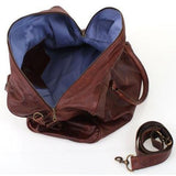 Travel Bag - Overnight Travel Luggage Leather Bag