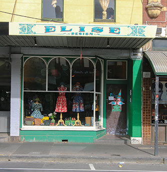 Elise Design Fitzroy melbourne Vintage Fashion Clothing Shop