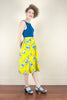 Tropical Paradise Yellow Skirt - Elise Design