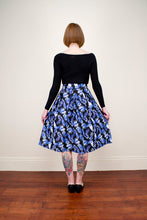 Load image into Gallery viewer, Payton Black Tropical Skirt - Elise Design