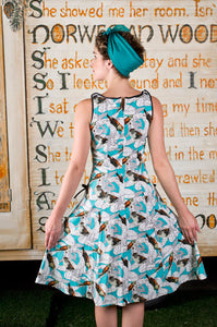 Bridget Birds Finch Dress - Elise Design