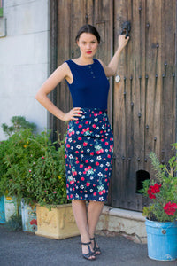 Mon Cherie Strawberry Skirt