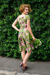 Kayla Floral Dress - Elise Design