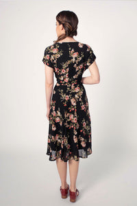Dakota Black Floral Dress