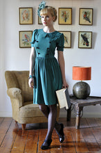 Load image into Gallery viewer, Silk Button Dress - Elise Design