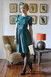 Silk Button Dress - Elise Design  - 1