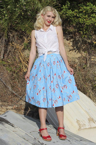 By The Sea Skirt Elise Design $105.00 Skirts