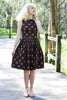 Cherise Black Dress - Elise Design
