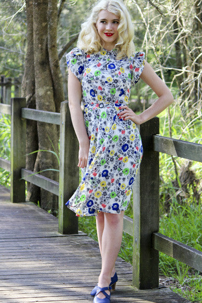 Frankie Floral Dress Elise Design $179.00 Dresses