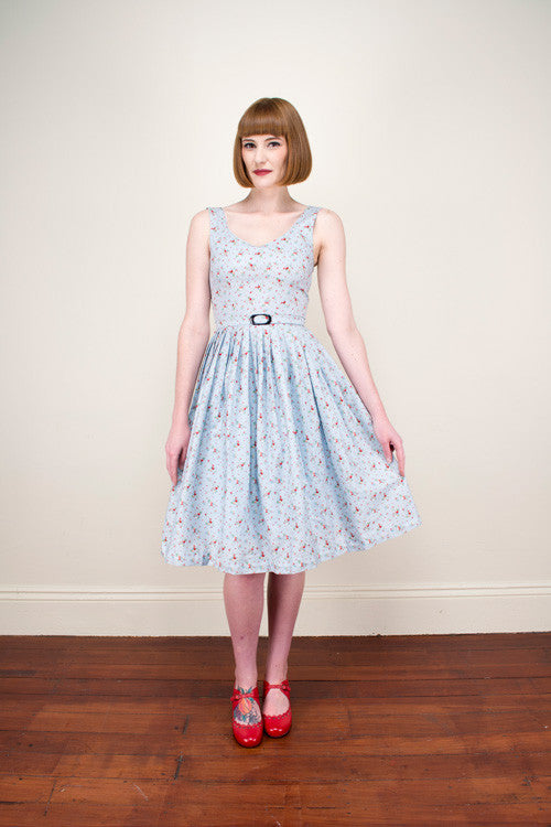Patti Blue Dress - Elise Design  - 1
