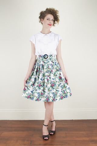 Stephanie Tropical Skirt - Elise Design